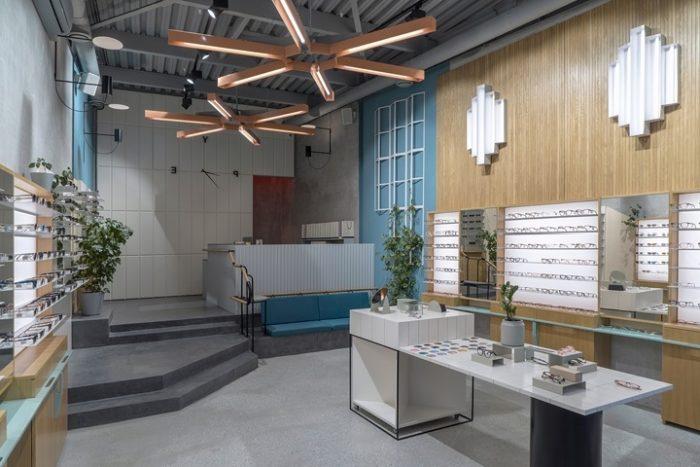 Дизайн магазина в стиле конструктивизм