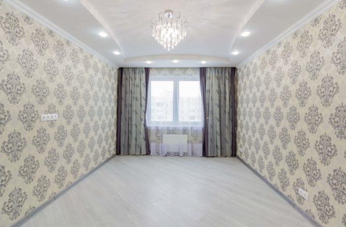 Дизайн фигурного потолка в классическом стиле