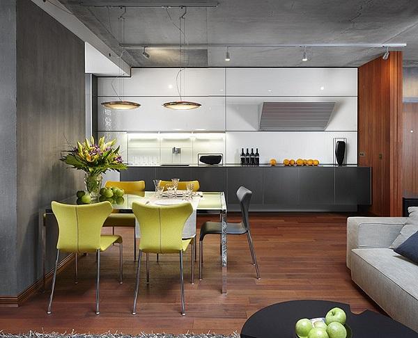 Дизайн частного дома в стиле конструктивизм