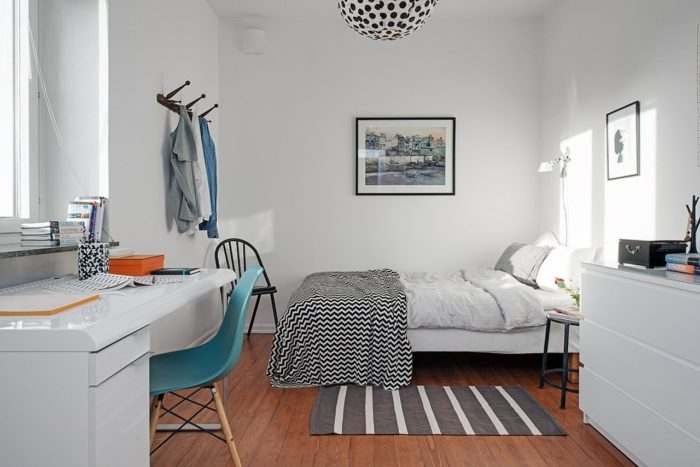 Интерьер спальни в современном минимализме