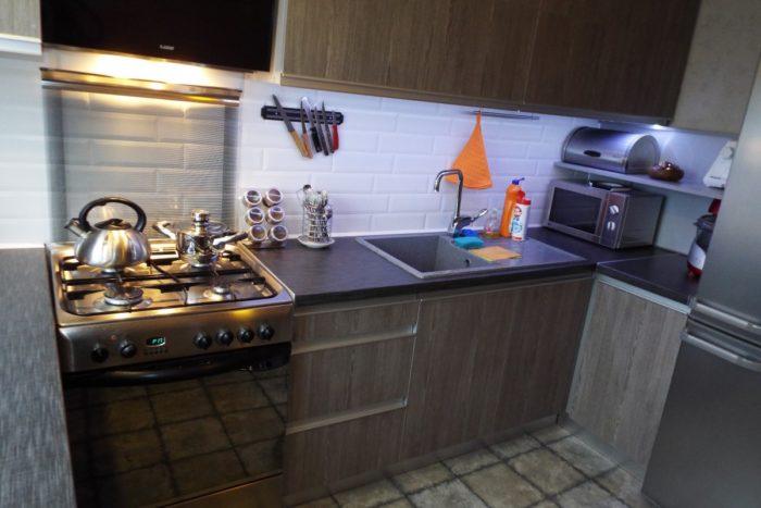Итоговая кухня по дизайн проекту