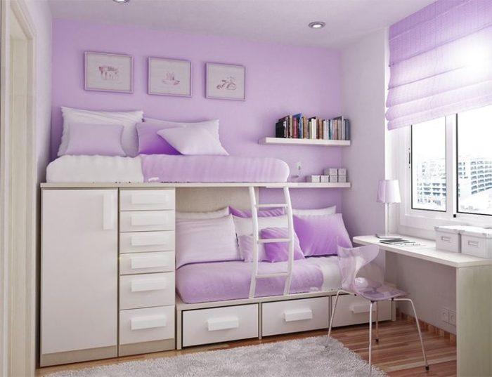 Как сделать детскую и спальню в одной комнате