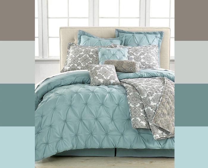 Как сочетать цвета в спальне