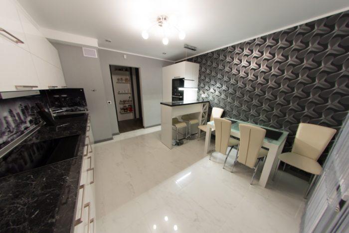 Кухни с барными стойками реальное фото