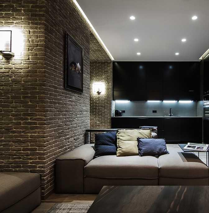 Минималистичный потолок из гипсокартона