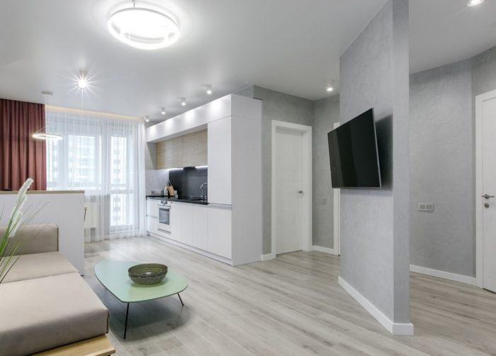Перепланировка квартиры для объединения