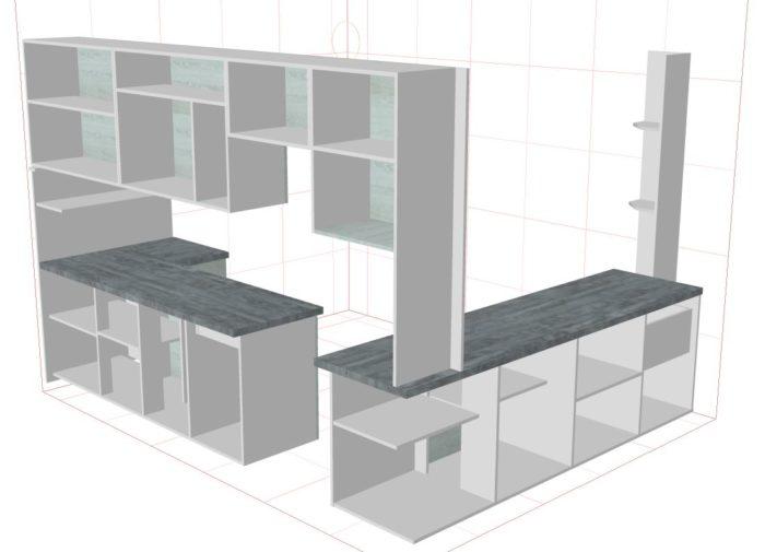 Программа для проектирования мебели кухни pro100