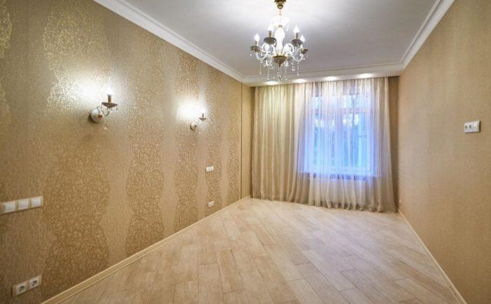 Простой классический дизайн потолка из гипсокартона