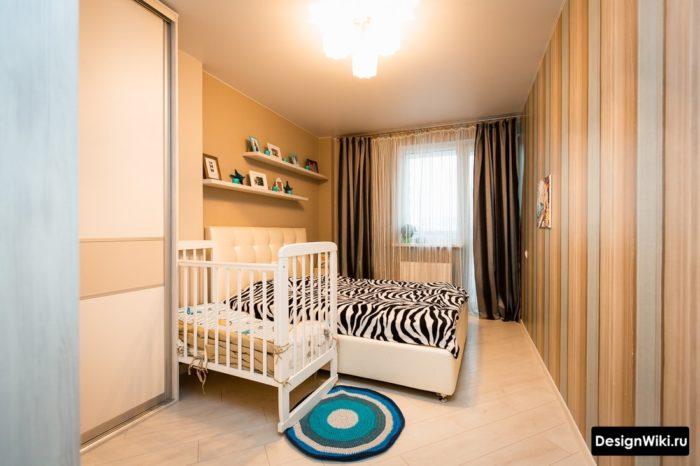 Простой ремонт в спальне перед рождением ребенка