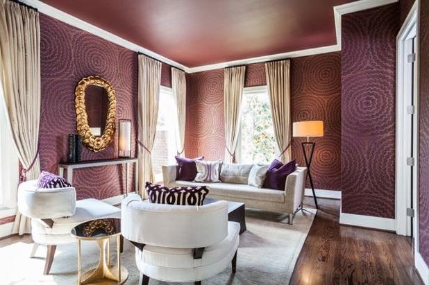 Роскошь в дизайне гостиной