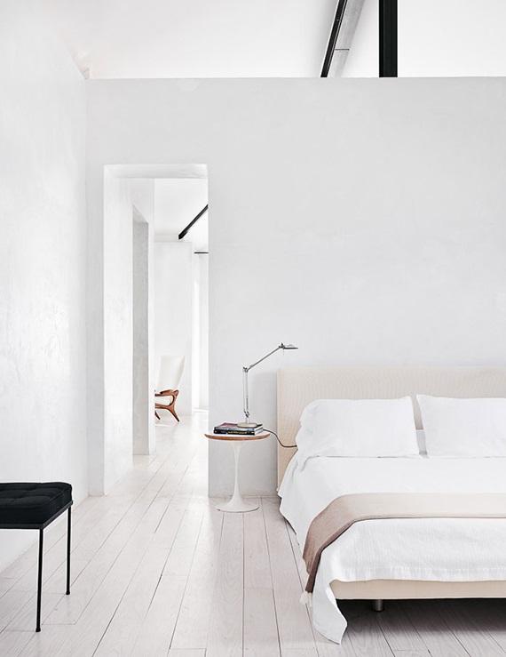 Светло-серый цвет в дизайне спальни
