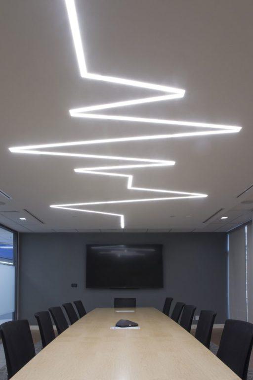 Светодиодный профиль для потолка