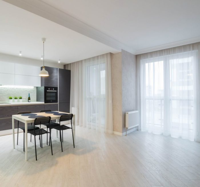 Современный дизайн квартиры-студии