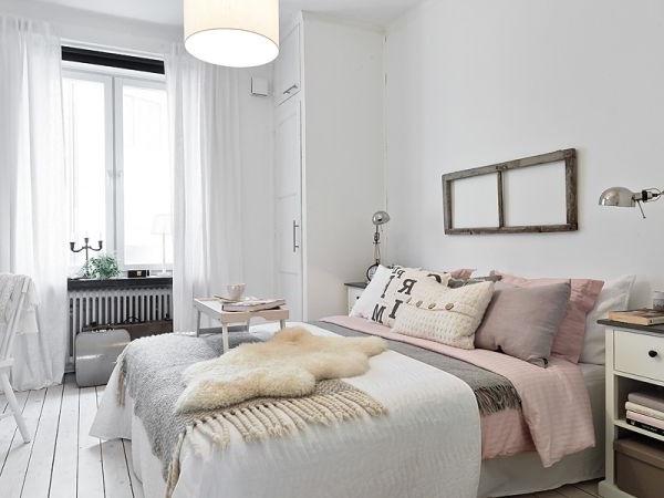 Современный интерьер вспальни в стиле минимализм