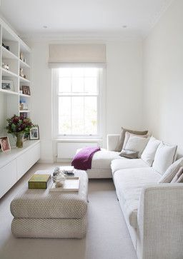 Современный стиль интерьера в небольшой комнате