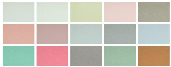 Сочетание обоев по насыщенности цвета