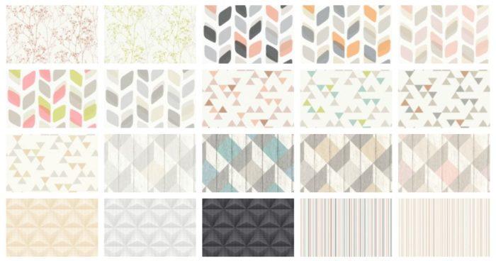 Различные сочетания цветов обоев в интерьере помещения | 368x700