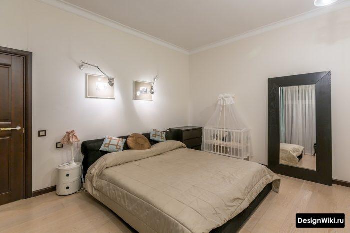 Спальня и детская в бежевых тонах