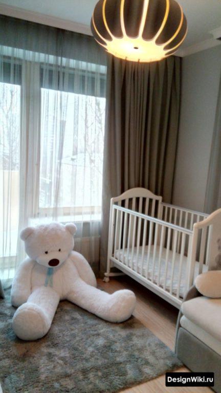 Стильная современная детская кроватка