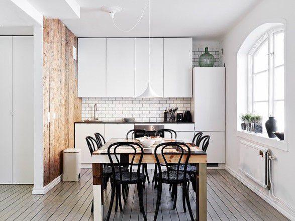Стиль минимализм в дизайне совмещенной гостиной