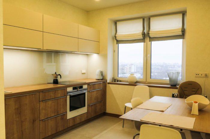 Стиль минимализм для кухни-гостиной