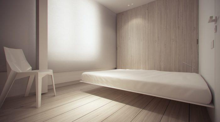 Ультра современный минимализм в спальне