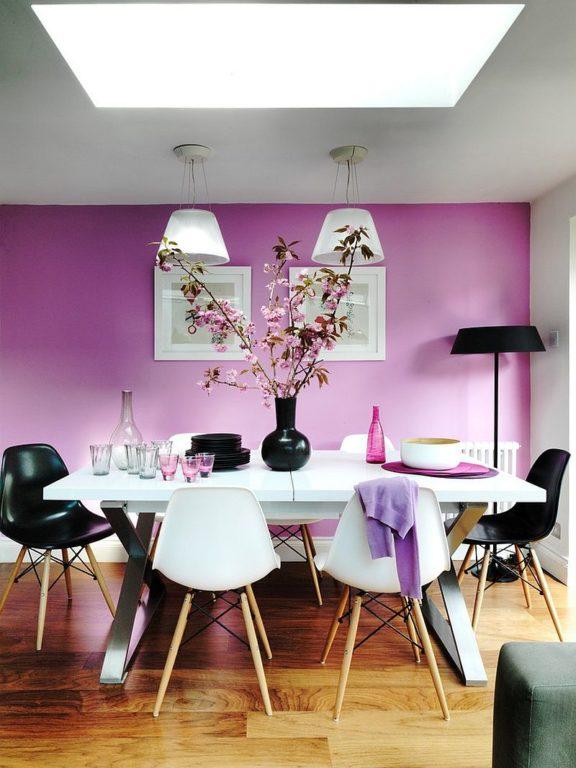 Цвет стен и пола в интерьере