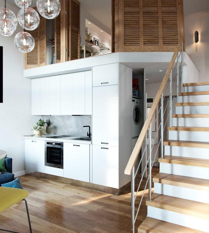 Частный дом в стиле современный конструктивизм