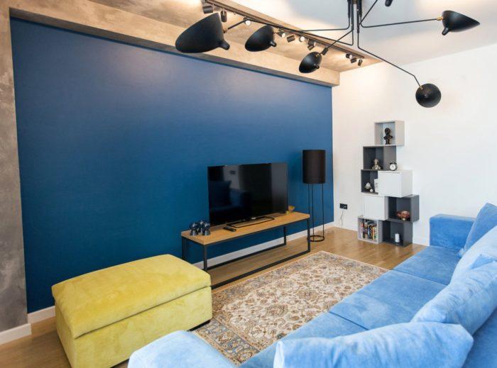 Элементы лофта в современном дизайне квартиры