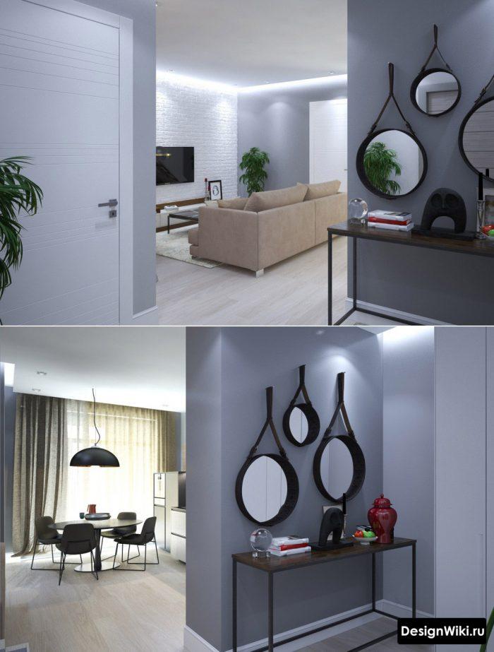 современный вариант подсветки потолка в кварите студии
