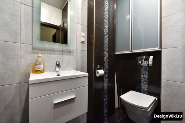 Бюджетный дизайн плитки для ванной