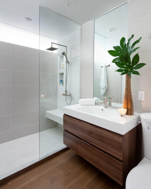 Ванная с туалетом и душем