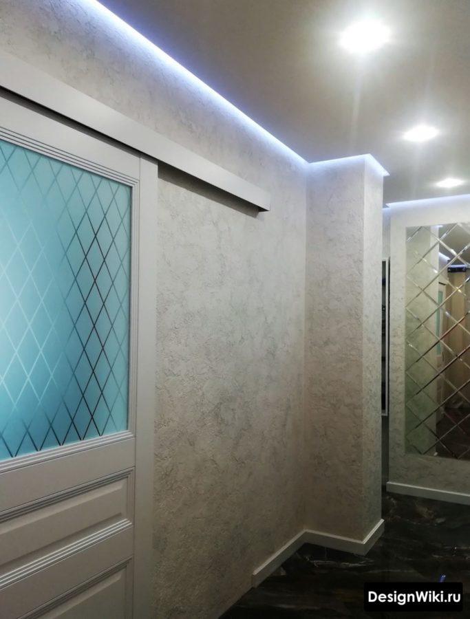 Вариант освещения в коридоре