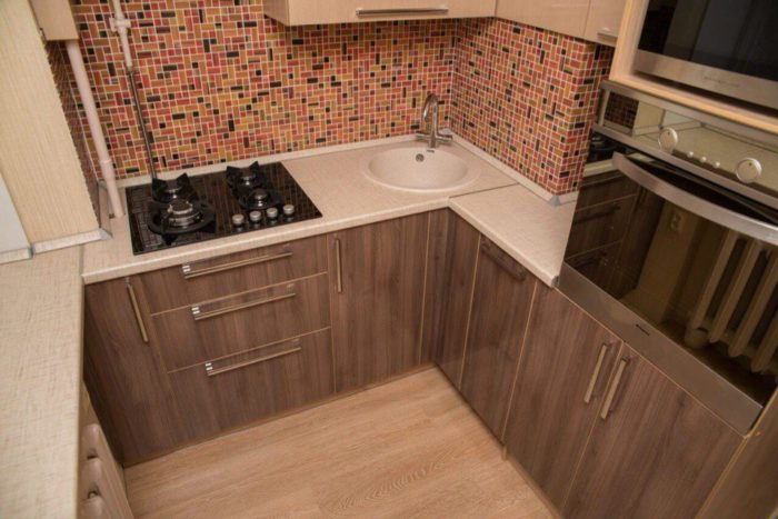 Дизайн бюджетной маленькой кухни