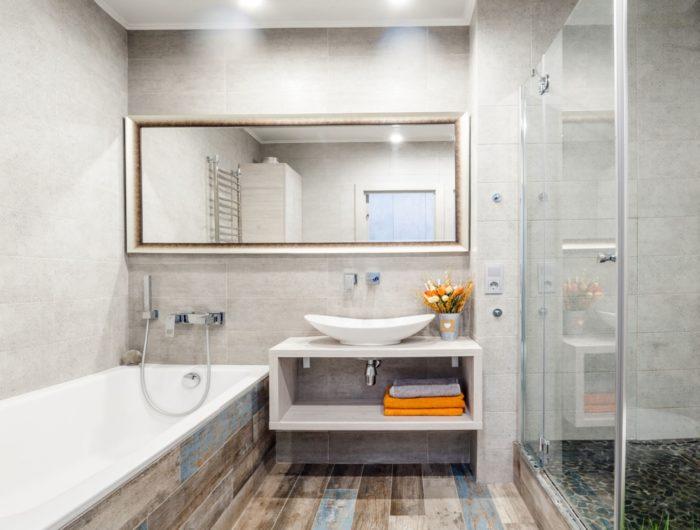 Дизайн ванна душевая и туалет в одной комнате