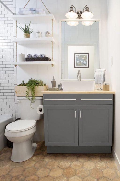 Дизайн ванной комнаты совмещенной с туалетом 4 кв.м
