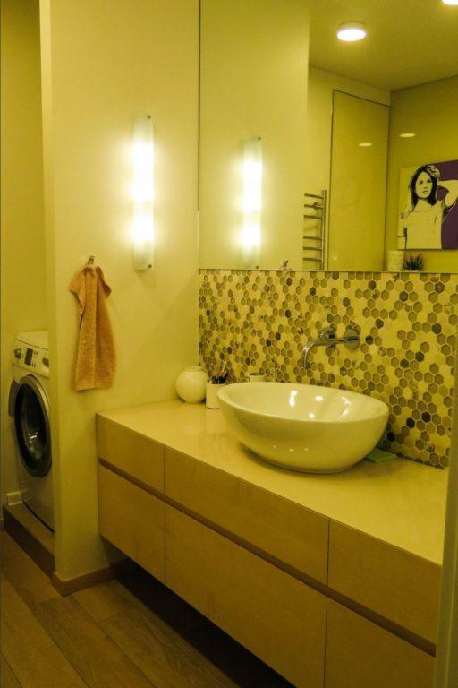 Дизайн ванной через плитку-мозаику