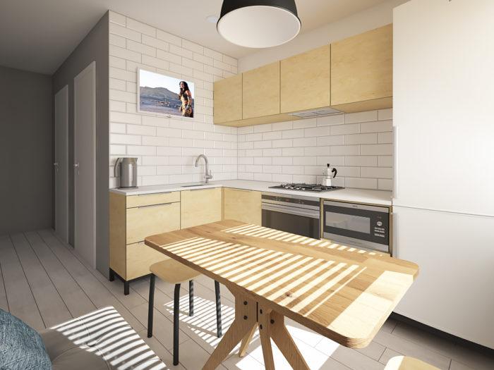 Дизайн кухни в хрущевке: 10 правил и 116 реальных фото