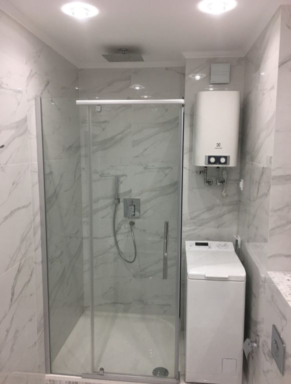 Классический дизайн ванной комнаты