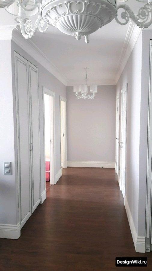 Классический ремонт в коридоре