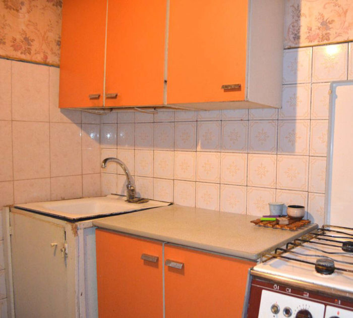 Кухня в хрущевке до ремонта
