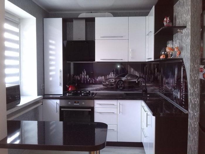 Кухня в хрущёвке 5.5 метров