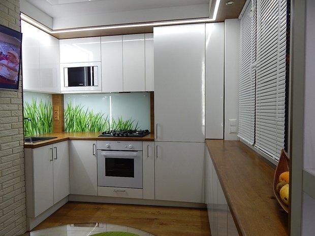 Кухня 6.2 кв м в хрущевке