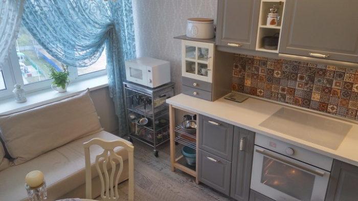 Кухонный гарнитур в стиле современная классика