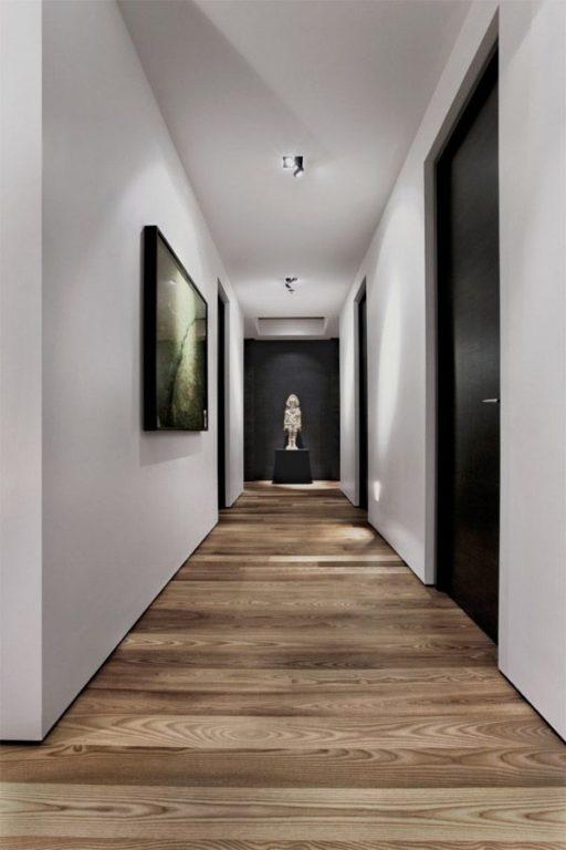 Ламинат поперёк коридора в квартире