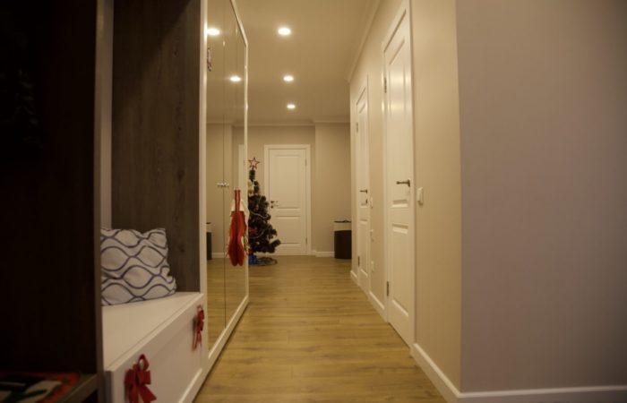 Мебель в прихожей коридоре