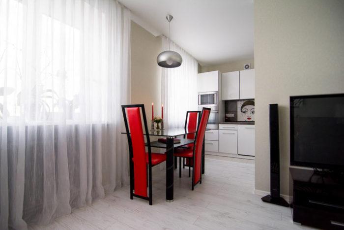 Мебель для совмещенной кухни