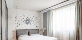 Модные новинки в дизайне маленькой спальни