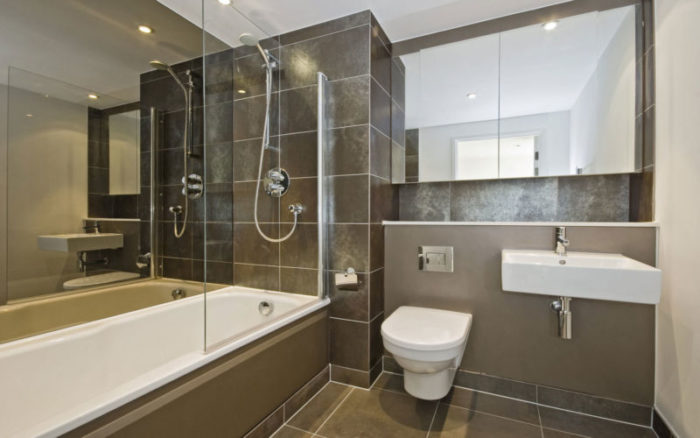 Неудачный дизайн ванной с туалетом