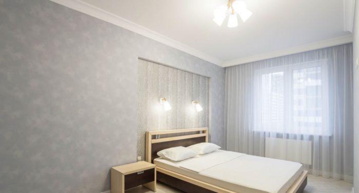 Пастельные цвета для обоев спальни